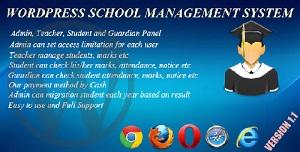 School Mgt System WordPress